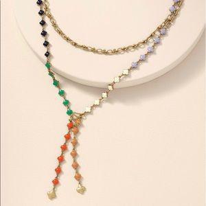Francis Lariat Necklace